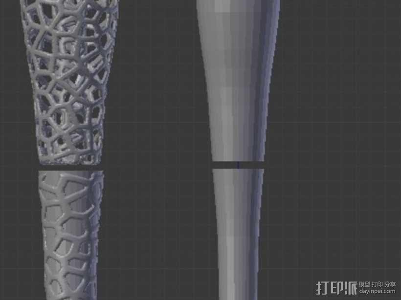 镂空的杂耍棒 3D模型  图9