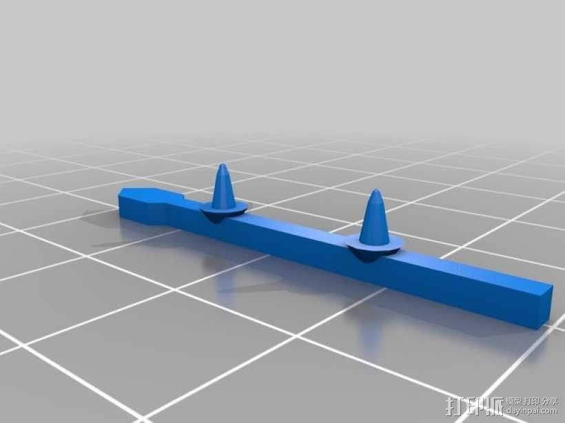 FlatMinis:战士 3D模型  图6