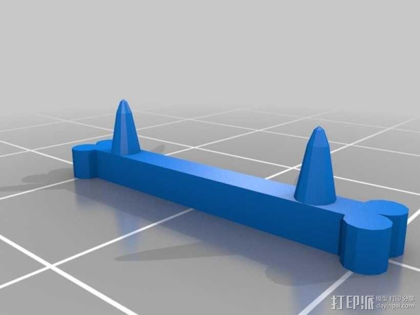 FlatMinis:战士 3D模型  图11