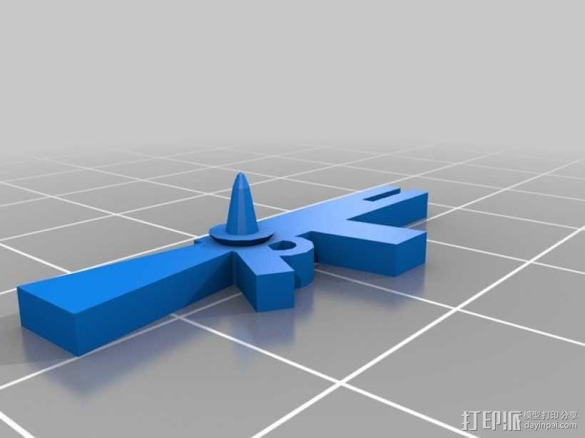 FlatMinis:战士 3D模型  图12
