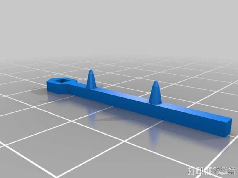 FlatMinis:战士 3D模型  图14