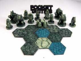 Pocket-Tactics:黑森林部落 3D模型