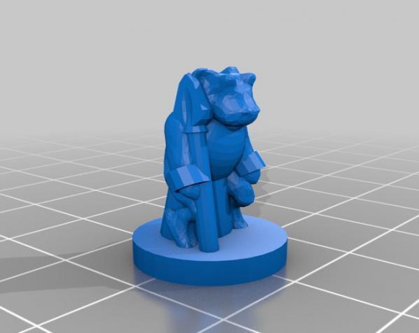 Pocket-Tactics:黑森林部落 3D模型  图3