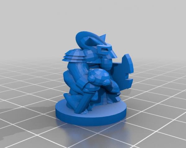Pocket-Tactics:黑森林部落 3D模型  图7