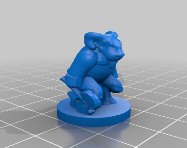Pocket-Tactics:黑森林部落 3D模型  图8