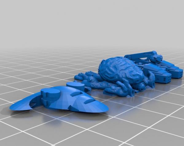 星际飞船系列2 3D模型  图4