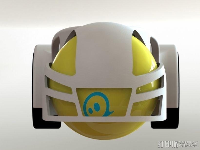 球形机车模型 3D模型  图3