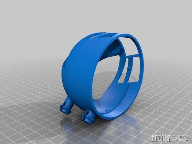 球形机车模型 3D模型  图4