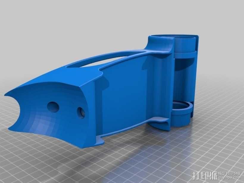 球形机车模型 3D模型  图5