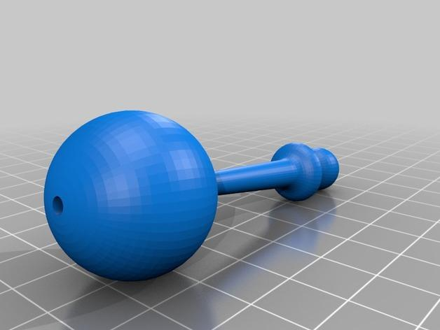 Ogo机器人小球 3D模型  图2