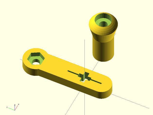 乐高手动曲柄 3D模型  图6