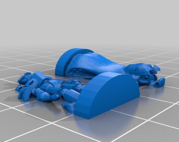 Pocket-Tactics:塔耳塔洛斯 3D模型  图3