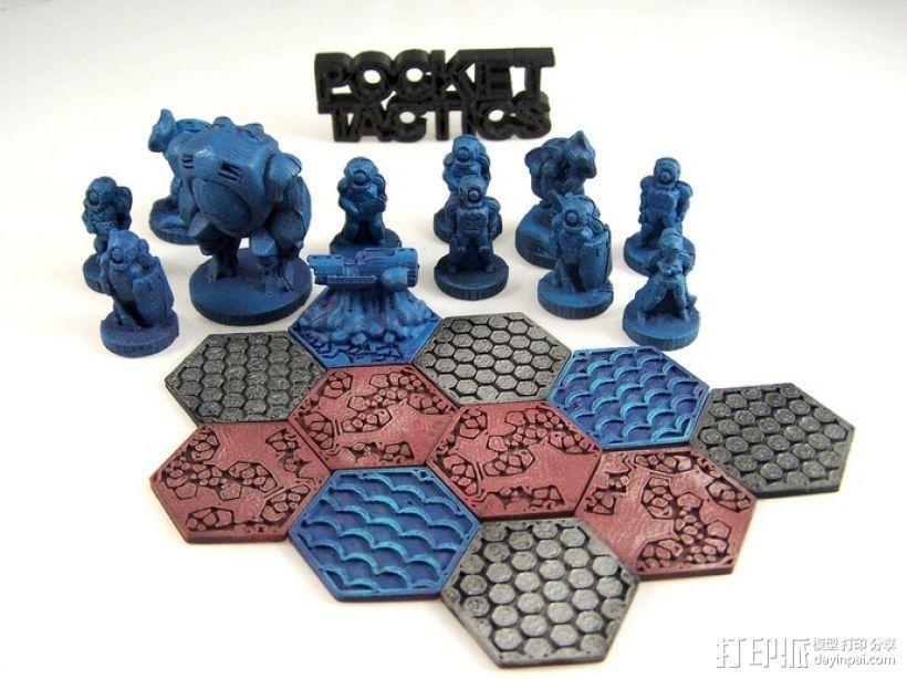 Pocket-Tactics:帝国反击部队 3D模型  图1