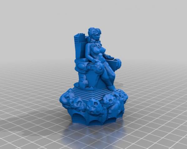 突破口:幸运女神 3D模型  图3