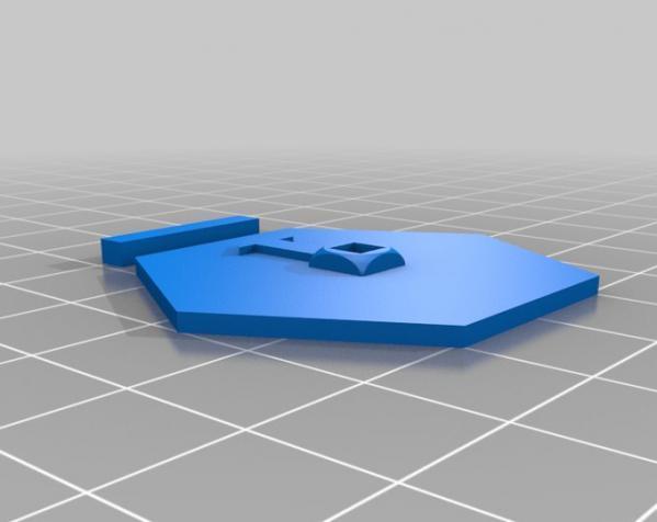 突破口:幸运女神 3D模型  图4
