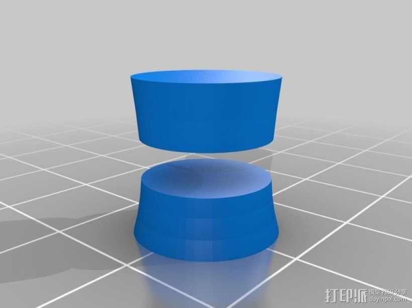 迷你保龄球瓶 3D模型  图8