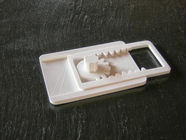 齿轮触发器 3D模型  图1