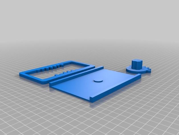 齿轮触发器 3D模型  图2