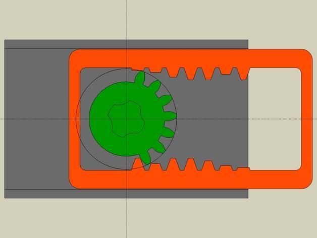 齿轮触发器 3D模型  图3