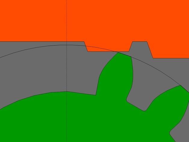 齿轮触发器 3D模型  图4