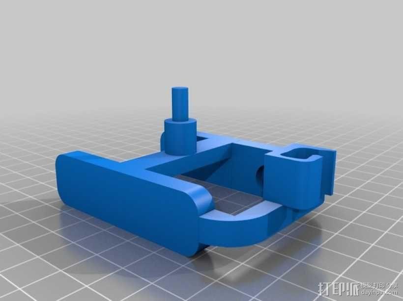 机动轨道车3 3D模型  图2