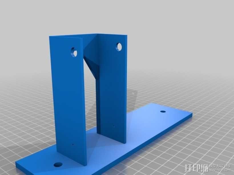 机动轨道车3 3D模型  图3