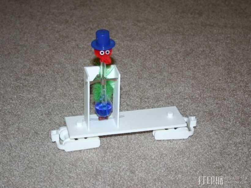 机动轨道车3 3D模型  图8