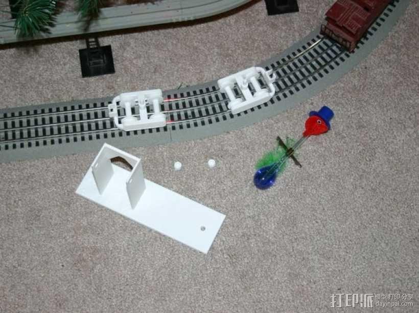 机动轨道车3 3D模型  图6