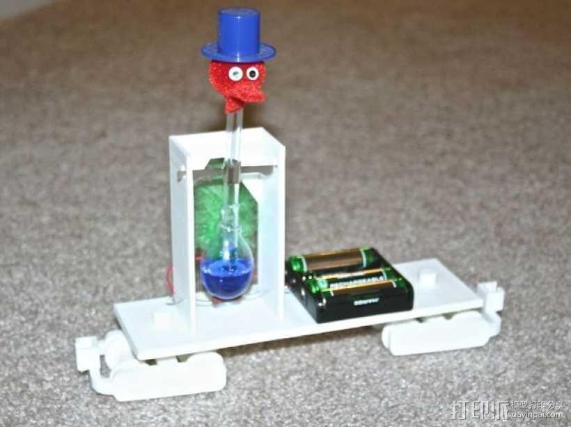机动轨道车3 3D模型  图10