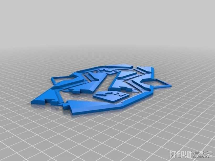 卡坦岛游戏瓦片 3D模型  图2