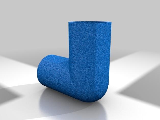 空心管道接口 3D模型  图6