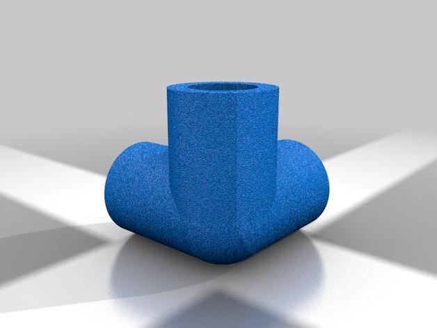 空心管道接口 3D模型  图9