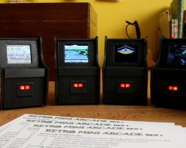 迷你街机Arcade 3D模型  图1