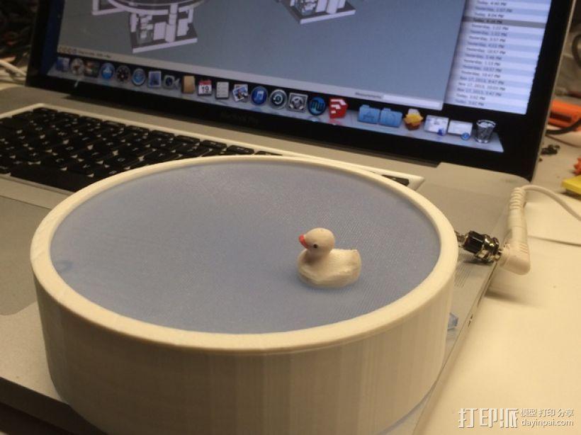 鸭子池塘 3D模型  图1