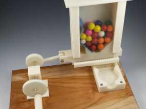 迷你糖果机 3D模型