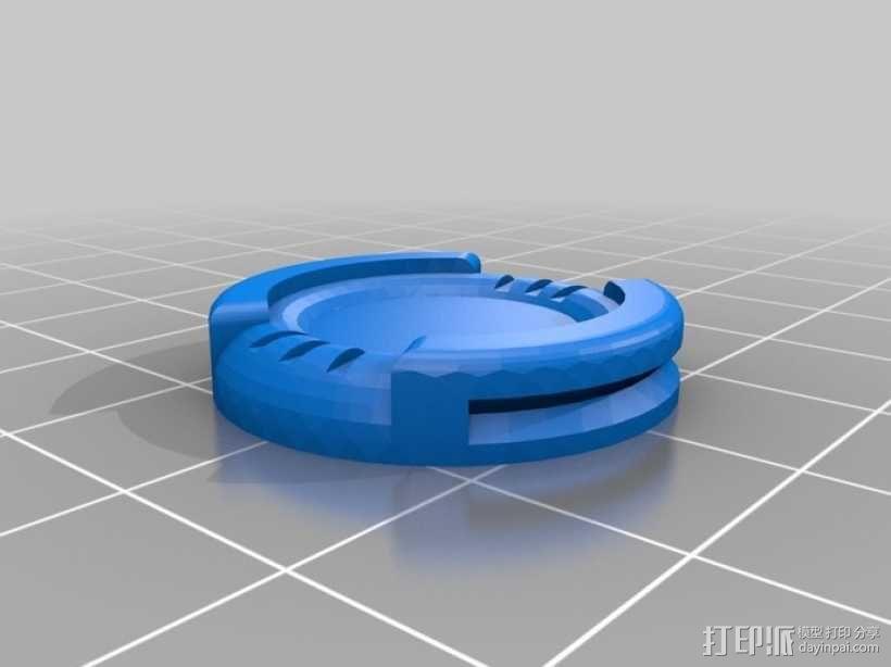微型基地2 3D模型  图1