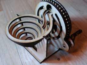 联动装置#1.1 3D模型