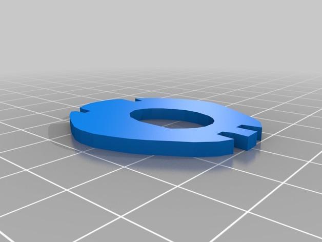 迷你图兔子拼图 3D模型  图5