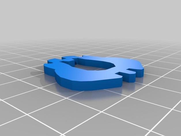 迷你图兔子拼图 3D模型  图9