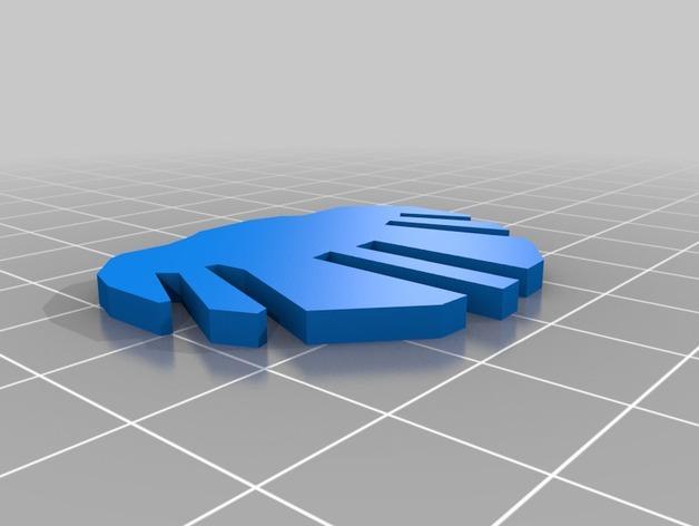 迷你图兔子拼图 3D模型  图25