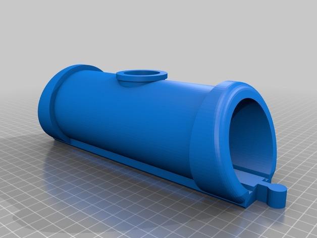 木质火车隧道模型 3D模型  图2