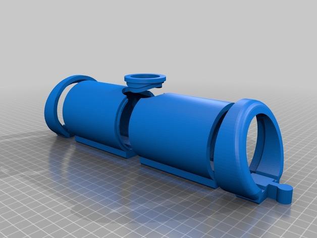 木质火车隧道模型 3D模型  图4