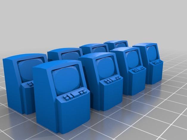 迷你桌游瓦片 3D模型  图4