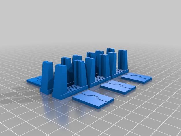 迷你桌游瓦片 3D模型  图7