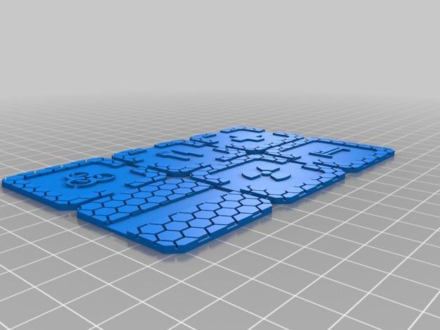 迷你桌游瓦片 3D模型  图9