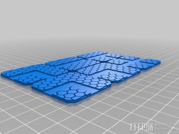 迷你桌游瓦片 3D模型  图10