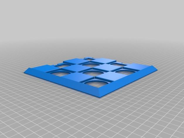 象棋棋盘 3D模型  图3