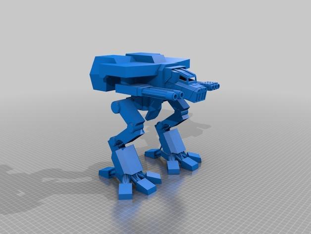 金星版本的战犬泰坦 3D模型  图2