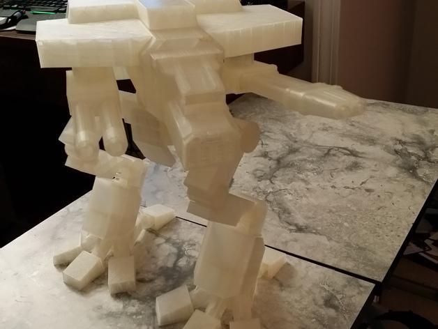 金星版本的战犬泰坦 3D模型  图1