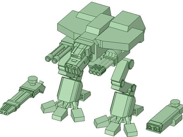 金星版本的战犬泰坦 3D模型  图4